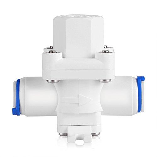 Válvula reductora Regulador reductor de presión de agua de 3/8'Regulador de alivio de presión de agua con diseño de protección de filtro