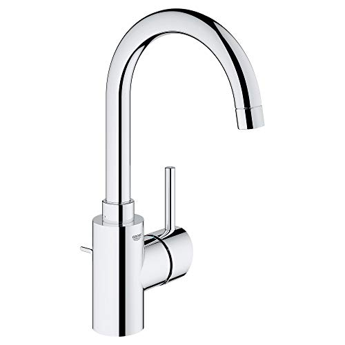 Grohe 32138002 Concetto Single-Handle Bathroom Faucet, Starlight Chrome