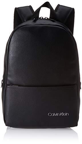 Calvin Klein Herren Ck Direct Round Backpack Schultertasche, Schwarz (Black), 0.1x0.1x0.1 Centimeters
