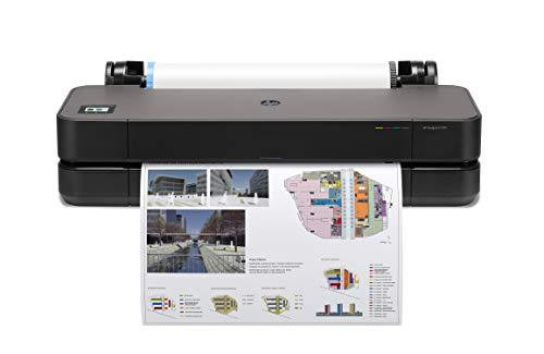 HP DesignJet T250 24-Zoll-Drucker (Plotter, Farbdrucke bis DIN A1, WLAN, Netzwerk) schwarz