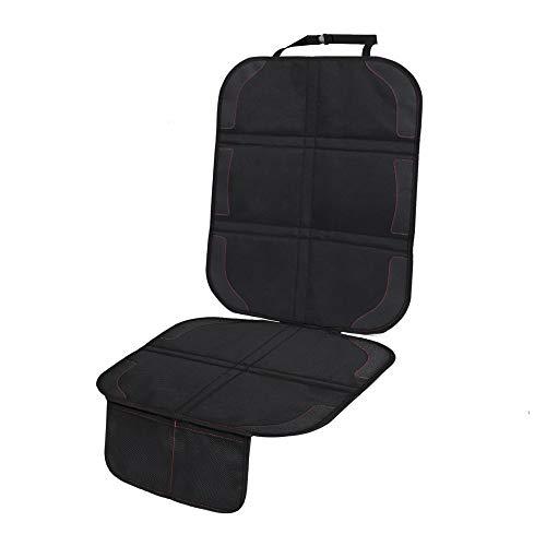 Protector de asiento de coche, funda protectora impermeable con bolsillos de malla de 48 x 132 cm para niños y mascotas