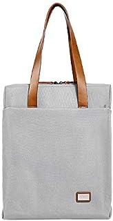 Men's Handbag Official Computer Business Bag (Color : Gray, Size : S)