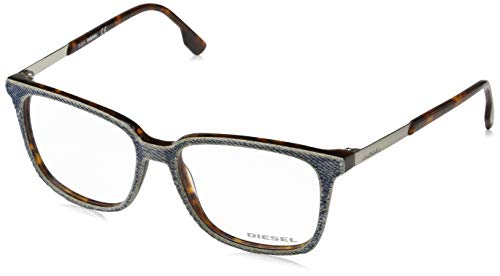 Diesel DL5116 53056 Optical Frame DL5116 056 53 Wayfarer Brillengestelle 53, Blau