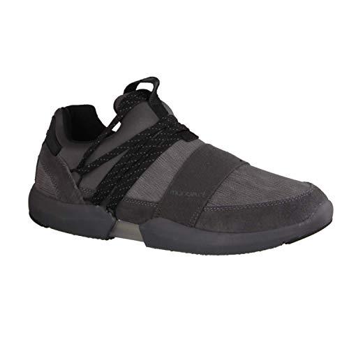 Mundart 217 JAN Grau - sportlicher Slipper - Herrenschuhe Sneaker/Schnürschuh, Grau, Leder/Textil/Synthetik (Velour/Stretch)
