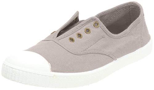 Victoria Inglesa Elastico Tenido Punt, Zapatillas Altas de Tela, Mujer, Beige (Stone), 36