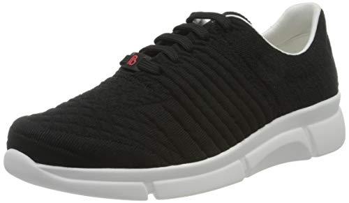 Berkemann Damen Pinar Sneaker, Schwarz (Schwarz Struktur 081), 42 EU