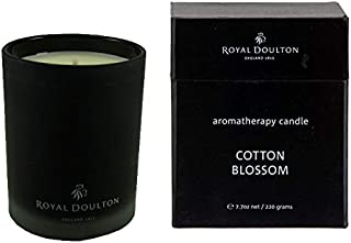 Royal Doulton Premium Aromatherapy Candle - Cotton Breeze - 40+ hours burn 7.7 oz