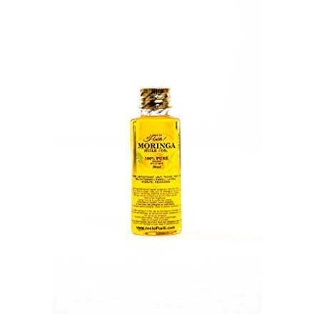 Moringa Oil-100% Pure Moringa Seed Oil- Sustained Improvement in The Appearance of Stretch Marks- Elasticity Belly Oil - Reducing Scars - 50 ML