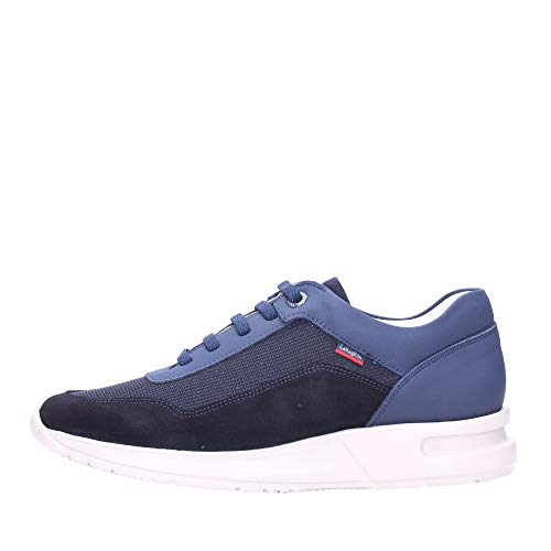 CALLAGHAN 91311 Sneakers Scarpe Uomo Casual Camoscio/Mesh Blu, 44