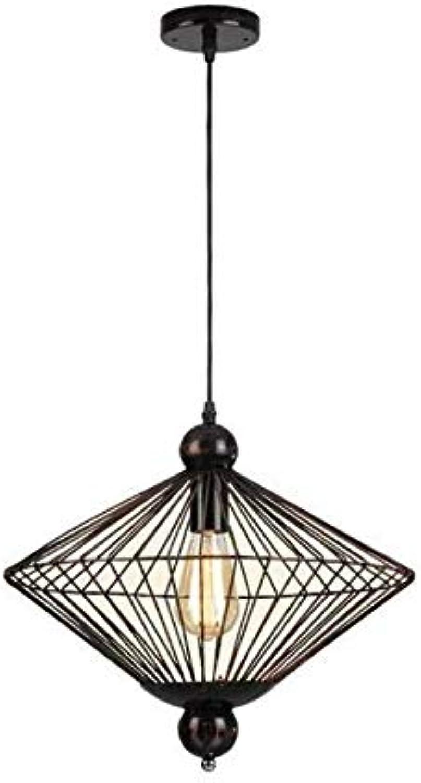Lustres-projecteur-plafonnier Tête créative unique plafond de fer forgé Chandelierretro industriel minimaliste restaurant éclairage Lustres éclairage de plafond