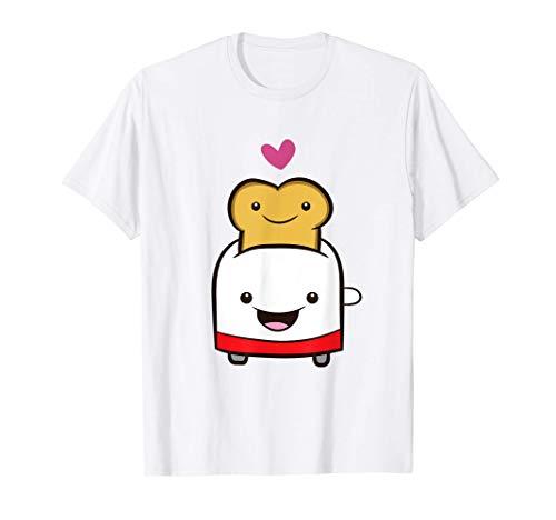 Tostadora y tostador Tostadora de pan Kawaii Camiseta