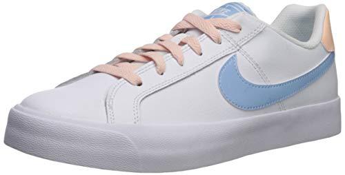 Nike Damen Court Royale AC Sneaker, Weiß (White/Psychic Blue-Crimson Tint 108), 40 EU
