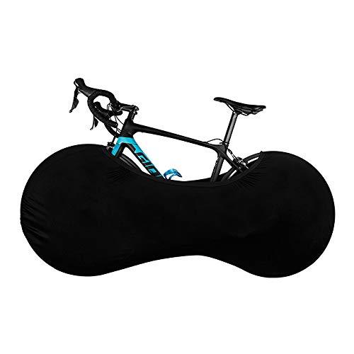 VISLONE Funda Bicicleta, Funda Bicicleta en Interior, Funda de Rueda de Bicicleta Resistente al Polvo, Lavable, Flexible y Resistente a los arañazos para Bicicletas de montaña, Carretera y MTB