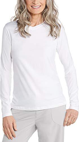 Coolibar T-Shirt pour Femme UPF 50+ XL Blanc.