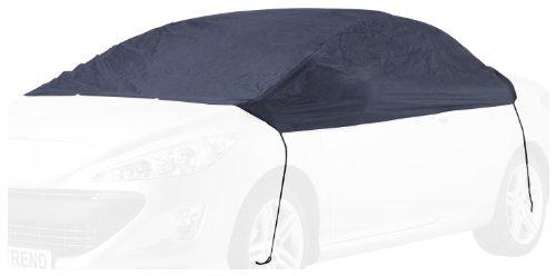 """Cartrend 70338 Halbgarage \""""New Generation\"""" Wetterfest, für VW Polo u. ä. Modelle, Polyester blau, Größe S"""