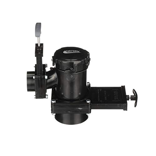 Valterra San Tee Double Rotating Valve, Mess-Free Waste Valve for RV's, Campers, Trailers, 3