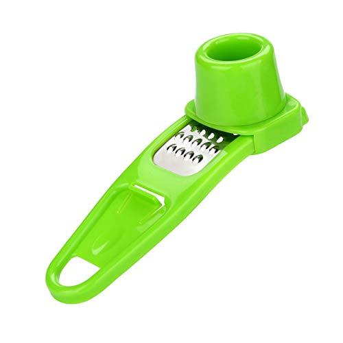 Badry Multifunktionale Edelstahl-Knoblauchpresse Knoblauchpresse Schälreibe Knoblauchmühle Mikrohobel Küchenmesser Küchenwerkzeug - a1, b1