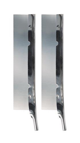Original Fiskars Cuchilla de repuesto para el cúter de precisión Fiskars, Sierra dentada, 2 unidades, Acero de calidad, Plata, Cuchilla de alto rendimiento, 1024408