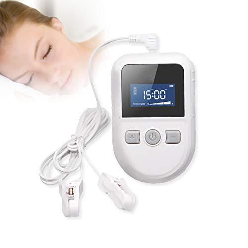 KTS Schlafmittel-Maschine für Schlaflosigkeit, Schlaflosigkeit Elektrostimulationsgerät, CES Therapie, Stimulation der kranialen Elektrotherapie zur Linderung von Kopfschmerzen