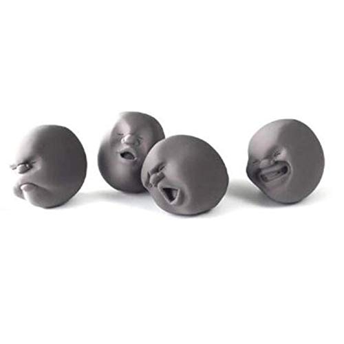 BianchiPatricia Funny Decompression Human Face Ball Anti-Stress Toy