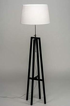 Amazon.es: lampara rustica - Madera / Lámparas de pie ...