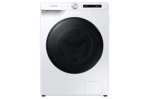 Lavasecadora Samsung WD10T534DBW/S3 Estándar Serie 5 Lavadora 10,5kg/ Secadora 6kg con tecnología de Inteligencia Artificial, Carga Frontal, Color Blanco, Tecnología EcoBubble, Inverter, AirWash