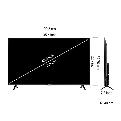 iFFALCON 103 cm (40 inches) Full HD Android Smart LED TV 40F2A (Black) (2021 Model) | With Built-in Voice Assistant 5
