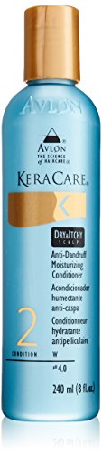 Avlon KeraCare Anti-Dandruff Moisturizing Conditioner for Dry & Itchy Scalp, Condition 2, 240ml/8 fl. oz.