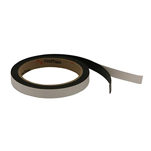 FindTape MGRS Receptive Steel Tape: 1/2 in x 10 ft. (Black) / outdoor-grade