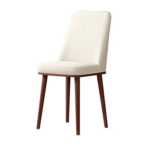 Chaise Moderne Dossier Simple Mode Maison Salle à Manger Salon Chambre Etude Bureau Tabouret Multicolore MUMUJIN (Couleur : Beige)