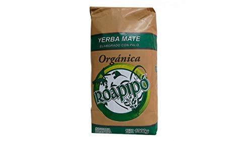 Yerba Mate Roapipo Organic 1kg 2.2lb