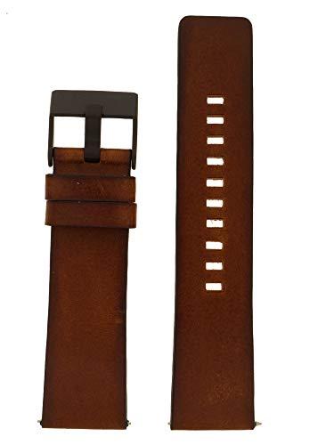 Diesel Uhrenarmband 24mm Leder Braun Uhrband DZ-4317 / LB-DZ4317