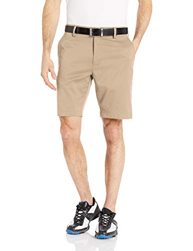 Amazon Essentials Men's Slim-Fit Stretch Golf Short, Khaki, 34