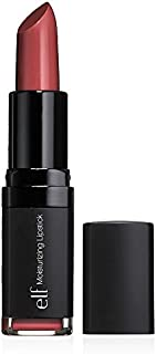 e.l.f. Cosmetics Moisturizing Lipstick, Provides Vibrant Color and Luminous Shine, Ravishing Rose