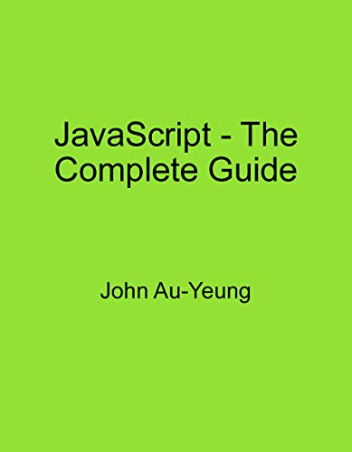 JavaScript - The Complete Guide (English Edition)
