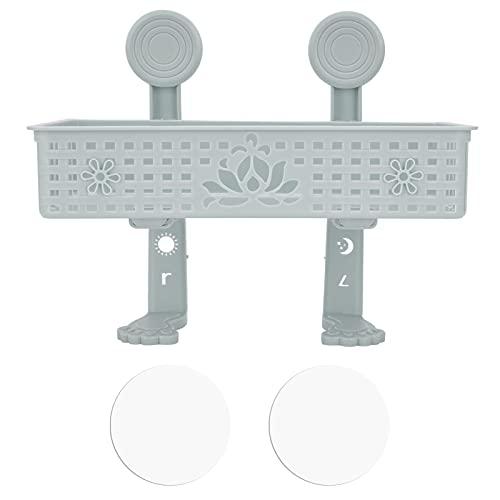 Rack di perforazione, scolapiatti Buon supporto per appendere gli stracci da posizionare sulla parete del water o del bagno(blu)