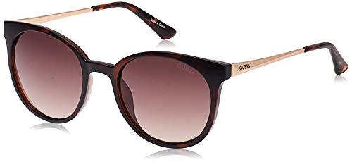 Guess Unisex-Erwachsene GU7503 52F 52 Sonnenbrille, Braun (Avana Scura/Marrone Grad)