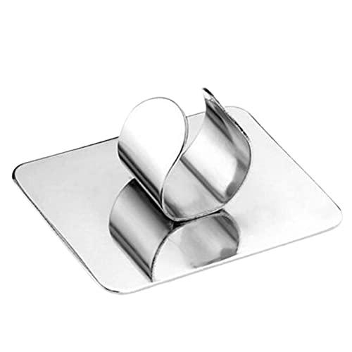 XPT Paleta de maquillaje, superficie lisa, fácil de usar, de acero inoxidable, fácil de limpiar, para mujer, acero inoxidable