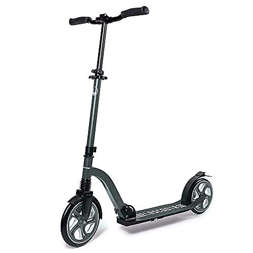 LaScoota Scooter for Kids Ages 6-12 and Up and Scooter for Adults I Big Wheels Kids, Teen and Adult Scooter I Foldable Kick Scooters for Teens 6-12 Years and Up and Scooters for Adults Up to 220 lbs