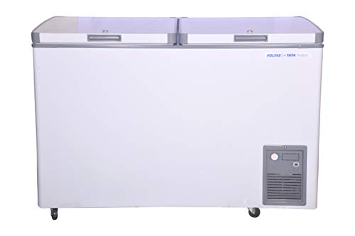 Voltas CF HT 320 DD P Double Door Deep Freezer, 320 Liters, White