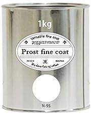 ペンキ 水性塗料 N-95 ピュアホワイト 1kg / 艶消し 壁 天井 壁紙 壁クロス ファインコート