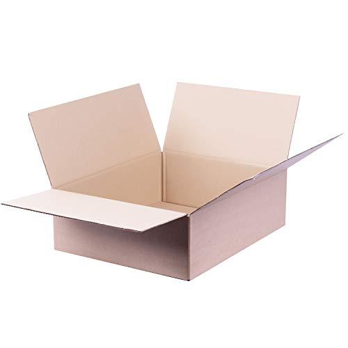 Faltkarton 500 x 400 x 150 mm 1.20c Amazon S Paket Karton Schachtel Paketversand 40 Stück
