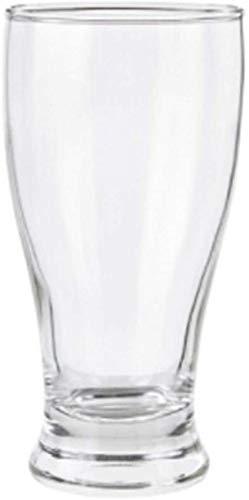 Tazas de cerveza, cerveza steins, cristalería de cerveza, taza de cerveza, taza de jugo, taza de cerveza, vidrio, 4 paquetes, tazas de bebidas, tazas de leche, tazas de cerveza, tazas, tazas, tazas de