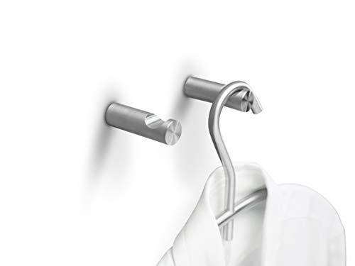PHOS Edelstahl Design, HV16-50, Wandhaken aus Edelstahl, Garderobenhaken,...