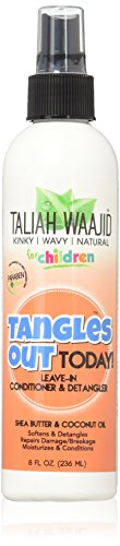 Taliah Waajid for Children Tangles Out Today Leavein Conditioner Detangler 8 Oz BE0210
