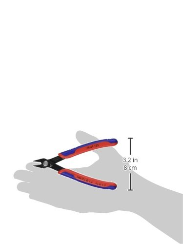 KNIPEX Tools - Electronics Super Knips, Multi-Component (7861125), 5-Inch