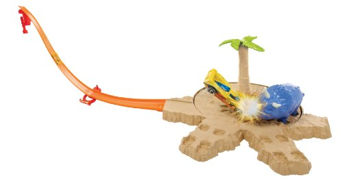 Circuit de voitures Hot Wheels : Piste Dino