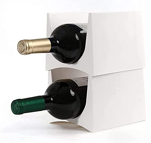 Bedspread Portabottiglie da Vino, portabottiglie da Tavolo portabottiglie autoportante per la Decorazione Domestica, Ottimo Regalo, Design Unico