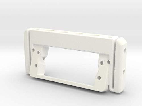 shapeways P40703-01 HG P407 Central Steering Servo Mount, White Processed Versatile Plastic