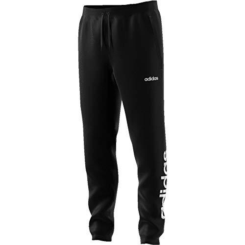 adidas Mens W Camo Lin Pant Sweatpants, Black/White, L